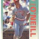 "PAUL O'NEILL ""Cincinnati Reds"" 1992 #415 Fleer Baseball Card"