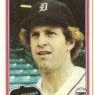 "DAN PETRY ""Detroit Tigers"" 1981 #59 Topps Baseball Card"