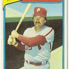"DEL UNSER ""Philadelphia Phillies"" 1979 HIGHLIGHTS #6 Topps Baseball Card"
