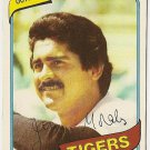 """JERRY MORALES """"Detroit Tigers"""" 1980 #572 Topps Baseball Card"""