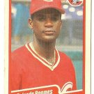"ROLANDO ROOMES ""Cincinnati Reds"" 1990 #432 Fleer Baseball Card"