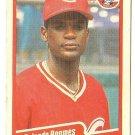 "ROLANDO ROOMES ""Cincinnati Reds"" 1990 #432 Fleer Baseball Card"