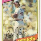 "RICK WISE ""Cleveland Indians"" 1980 #725 Topps Baseball Card"