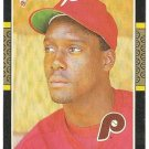 "MARVIN FREEMAN ""Philadelphia Phillies"" 1987 #576 Donruss Baseball Card"