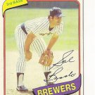 "SAL BANDO ""Milwaukee Brewers"" 1980 #715 Topps Baseball Card"