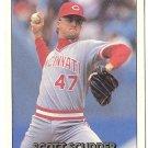 """SCOTT SCUDDER """"Cincinnati Reds"""" 1992 #306 Donruss Baseball Card"""