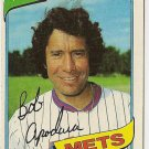 "BOB APODACA ""New York Mets"" 1980 #633 Topps Baseball Card"