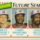 1980 ATLANTA BRAVES FUTURE STARS #675 Topps Baseball Card