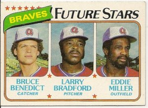 1980 ATLANTA BRAVES FUTURE STARS #675 Topps Baseball Card