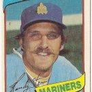 "RANDY STEIN ""Seattle Mariners"" 1980 #613 Topps Baseball Card"