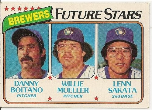1980 MILWAUKEE BREWERS FUTURE STARS #668 Topps Baseball Card