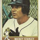 "MICKEY STANLEY ""Detroit Tigers"" #483 1976 Topps Baseball Card"