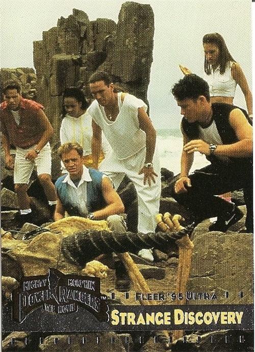 MIGHTY MORPHIN Power Rangers Fleer '95 Ultra Card #60 Strange Discovery