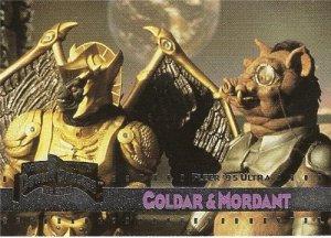 MIGHTY MORPHIN Power Rangers Fleer '95 Ultra Card #17 Goldar & Mordant