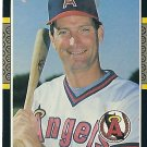 "DOUG DeCINCES ""California Angels"" 1987 #356 Donruss Baseball Card"