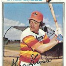 "GREG GROSS ""Astros"" 1977 #614 Topps Baseball Card"