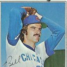 "BILL BONHAM ""Chicago Cubs"" 1977 #586 Topps Baseball Card"