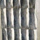 "NATURAL VIZCACHA SKIN PLATE - DRESSED REAL GENUINE SKIN(est size 46"" X 23 1/2"")"