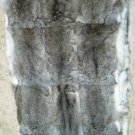 """NATURAL HARE REX RABBIT DRESSED REAL GENUINE SKIN PLATE (est size 44"""" X 21"""")"""