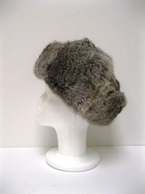RUSSIA MILITARY GRAY REX HAT(MIC-8)