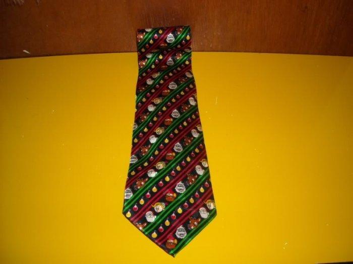 Mens Rudolph the Red Nosed Nose Reindeer Tie Necktie