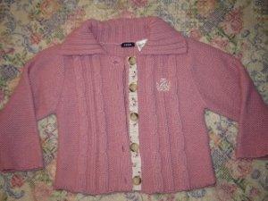 Baby Girls 18M  Mauve Cardigan Sweater Vest Set
