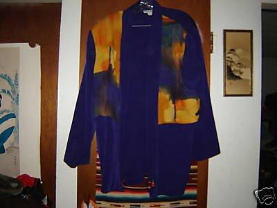 Womens Sharon Anthony Woman Purple Career Jacket 22W 22