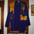 Womens Sharon Anthony Woman Purple Career Jacket 22W 22