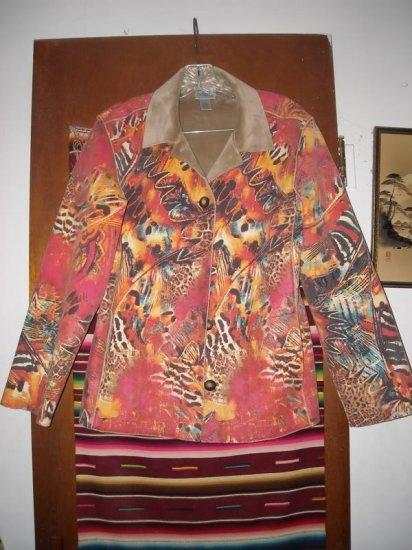 Womens Chicos Colorful Jacket Short Coat 0