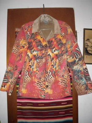 Womens Chicos Colorful Jacket Short Coat 0
