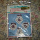 Christmas Ornaments Pointsettia Cross stitch Kit
