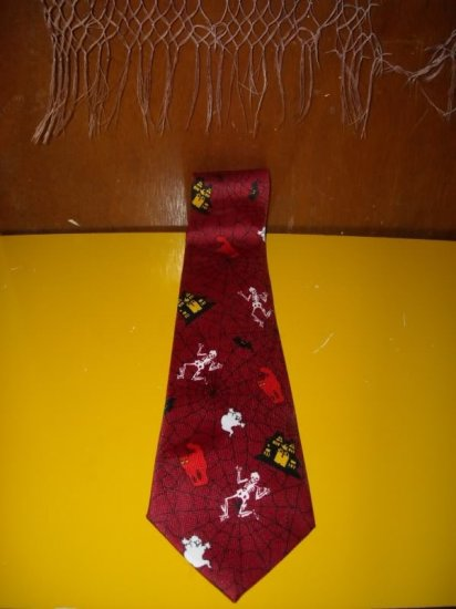 Mens Halloween Tie Necktie