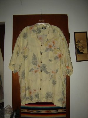 Mens Tommy Bahama Linen Hawaiian Style Shirt XXL