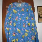 Womens SpongeBob Nickleodeon Cherokee Uniform Top M