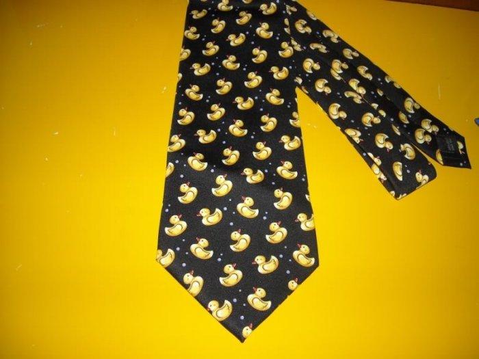 Mens Utopia Rubber Duck Duckie Tie Necktie