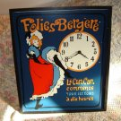 Can-Can Dancer Jane Avril Folies Berger Wall Clock
