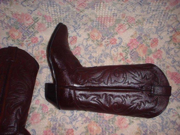 Womens Justin Cowboy Western Boots Unworn 8.5 8 1/2