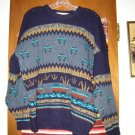 Mens The Clever Sheperd Wool Duck Mallard Sweater L