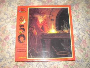 Spellbound Wizard Wizardry Magic Puzzle Sealed 550