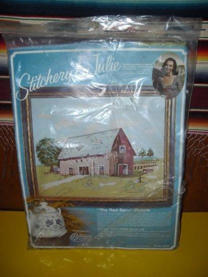 Stitchery by Julie Eisenhower The Red Barn