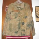 Womens Chicos Asian Corduroy Jacket 1