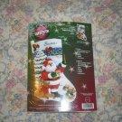 Sing Along With Santa Felt Christmas Stocking Kit