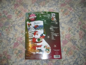 Sing Along With Santa Felt Christmas Stocking Kit
