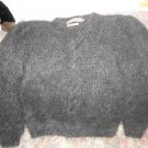 Helena Ruuth Handmade in Ireland Mohair Sweater M Grey