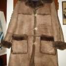 Womens Overland Sheepskin Company Shearling Coat S