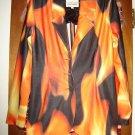 Womens Todd Oldham Colorful Jacket Blazer M