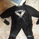 Averix Logo Hooded Snowsuit Bunting 18 Months