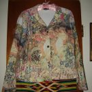 Womens Impulse Art Noveau Stained Glass Jacket L