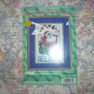 Believe Christmas Santa Counted Cross Stitch Kit Janlyn