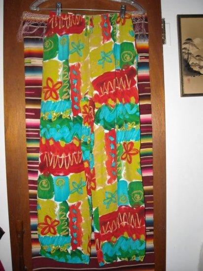 Womens Xtreme Island Designs Hawaii Cropped Pants S